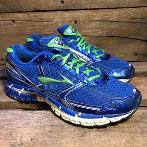Brooks GTS 14 Blue Kids Running Shoes